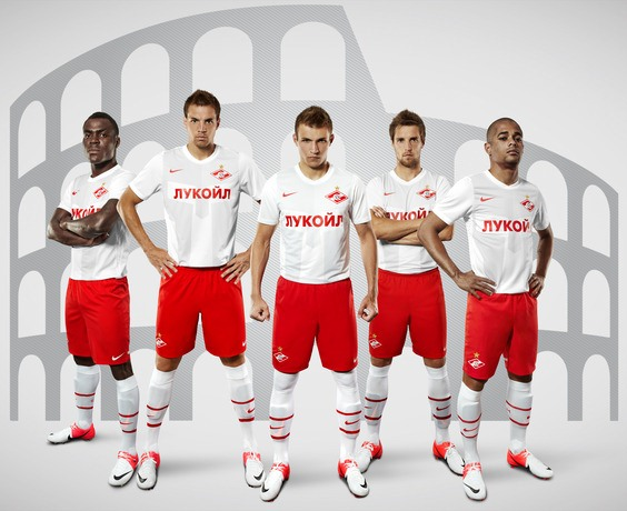 Spartak Moscow Football Shirt