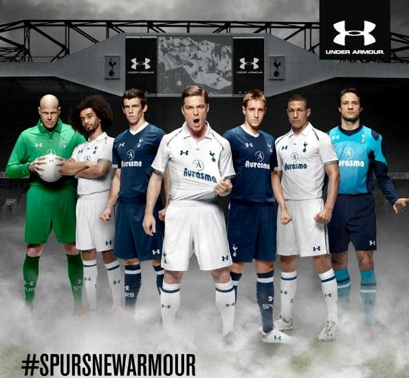 Tottenham Under Armour Soccer Jersey 2013