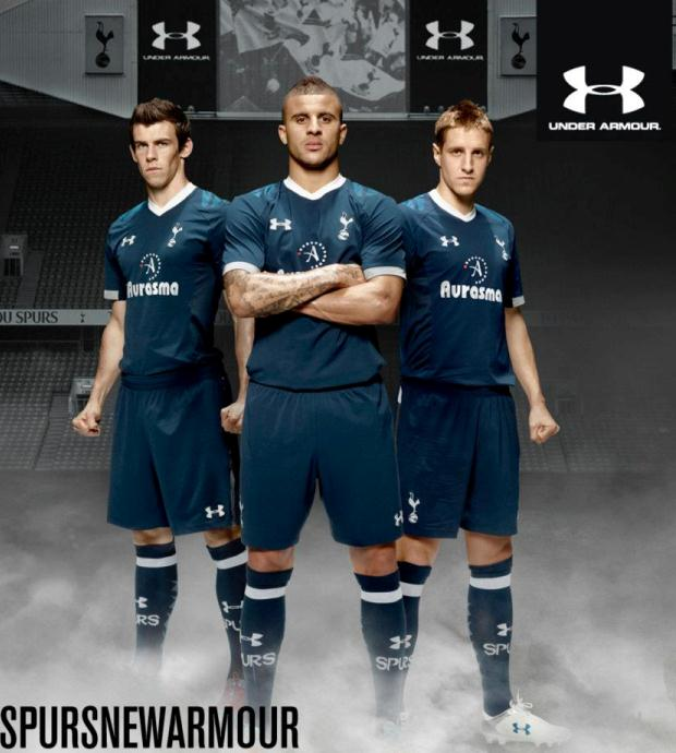 Under Armour Tottenham Away Kit 12 13