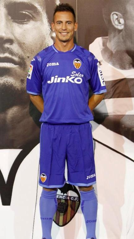 Valencia CF Away Shirt 2012-13