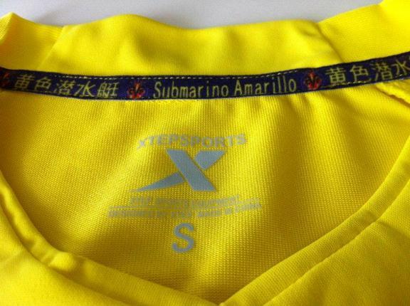 Villarreal Camiseta 2012