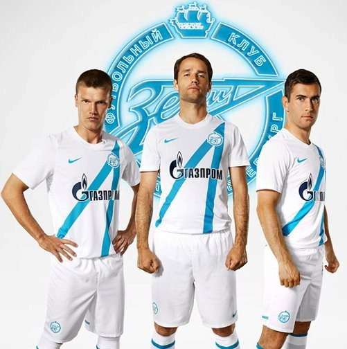 Zenit Saint Petersburg New Kit 12 13