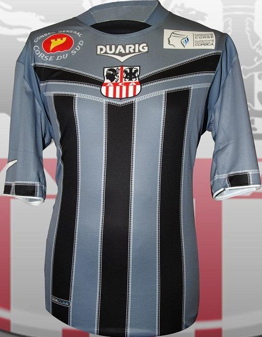 AC Ajaccio Football Shirt 2012 13