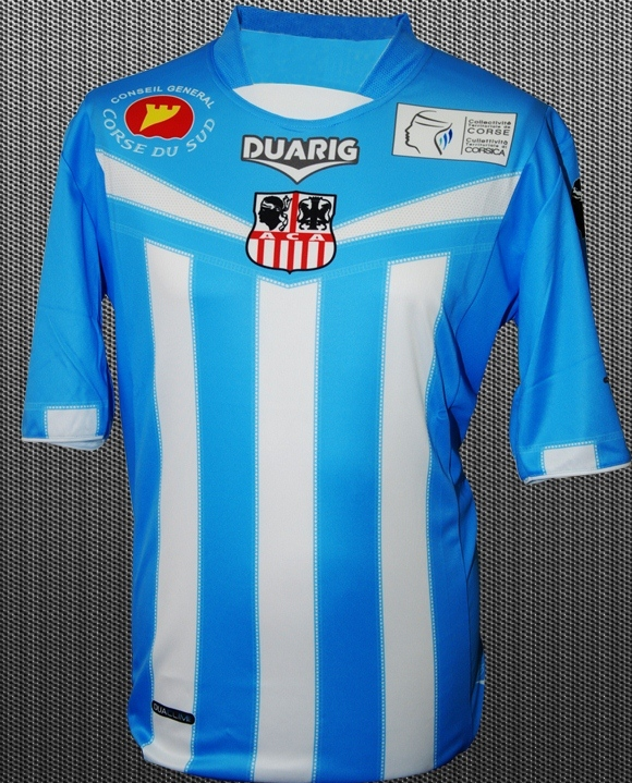 AC Ajaccio Third Kit 12 13