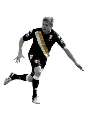 Damien Duff Fulham 2012 Kit