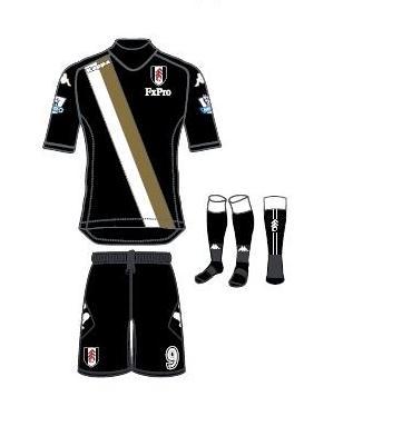 Fulham Third Kit 12 13