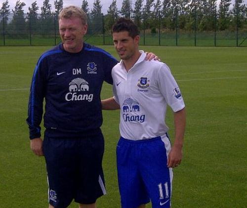 Kevin Mirallas Everton 2012 Jersey