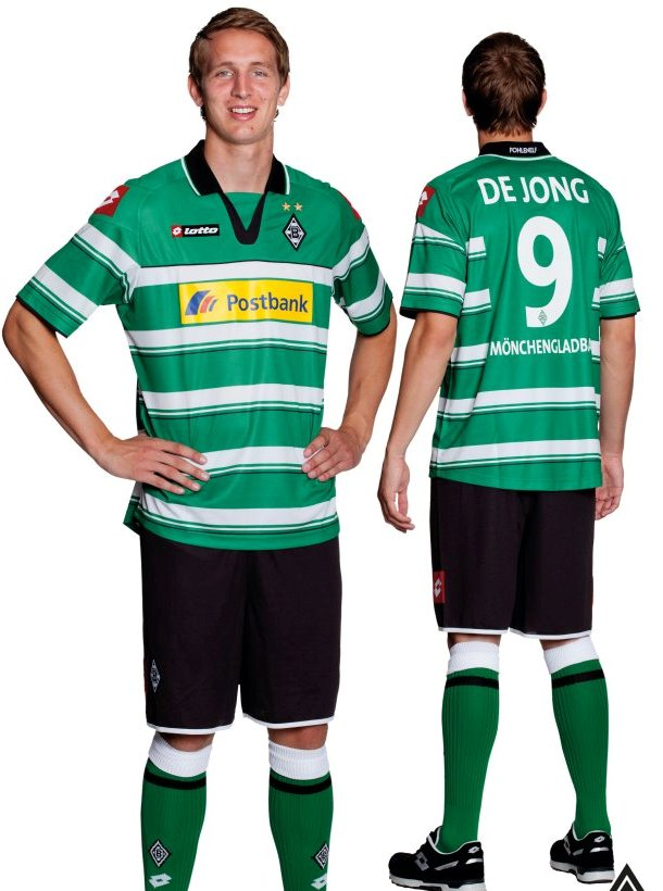 Luuk de Jong Borussia Monchengladbach 2012 Jersey