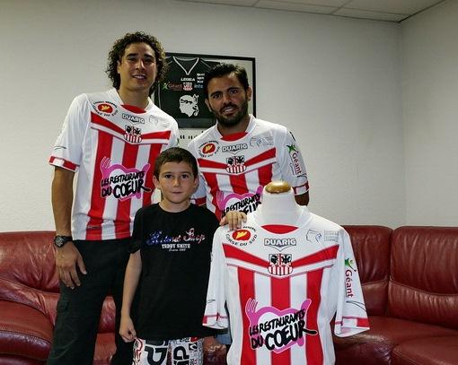 Maillot AC Ajaccio Duarig 2012/13