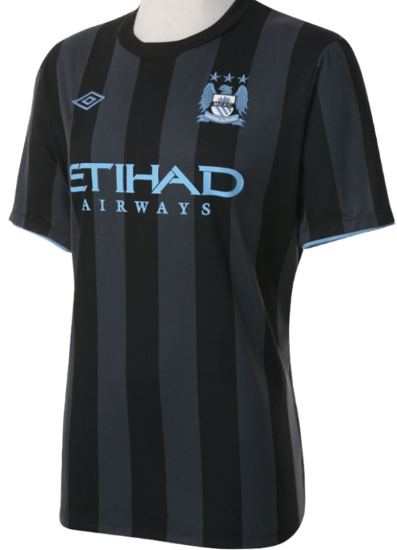 Man City Euro Away Kit 2013