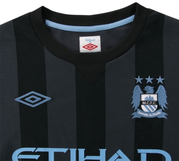 Manchester City uitshirt europees 2012-2013