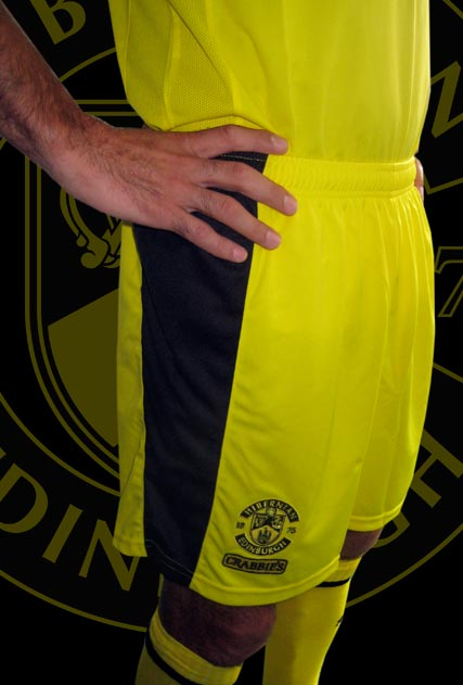 New Hibs Third Kit Shorts