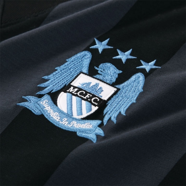 New Man City Champions League Kit 12 13