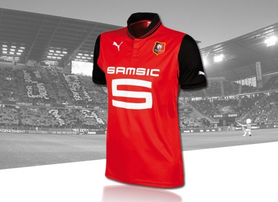 New Rennes Home Kit 12 13