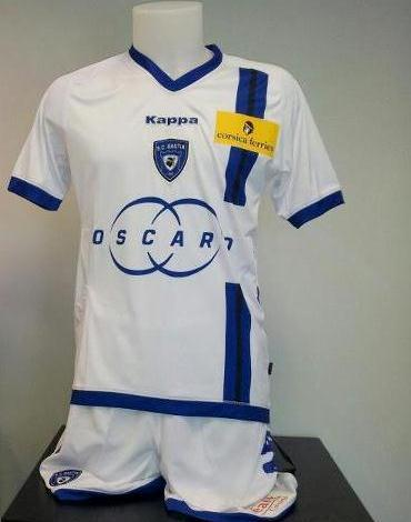 New SC Bastia Kappa Jersey Away Third