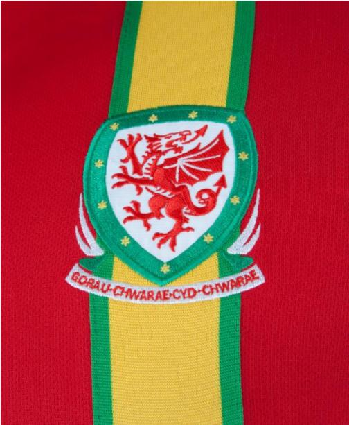 Wales thuisshirt