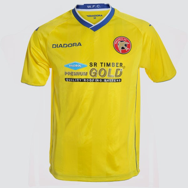 New Walsall Third Kit 12 13