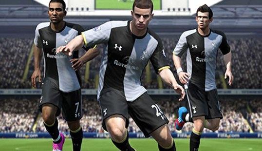 Spurs FIFA 13 Shirt