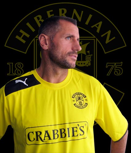 Yellow Hibs Kit 2012/13