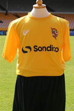 Gold Port Vale Kit 2012