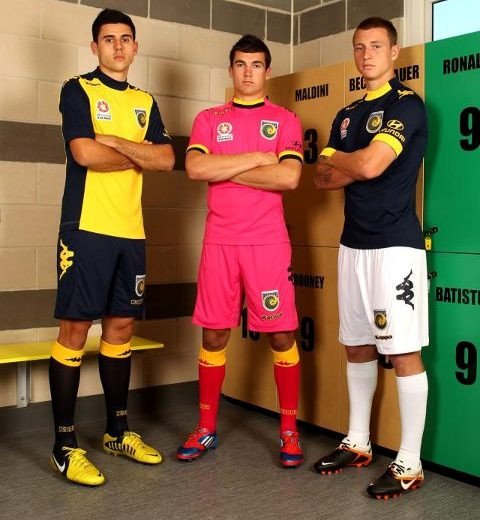 Kappa Central Coast Mariners Jersey 2012