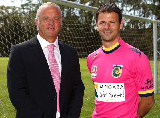 Mingara Central Coast Mariners Pink Kit 12 13