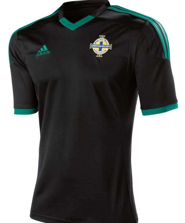 New Northern Ireland Away Kit 2012 2013 Black Ni Away Top