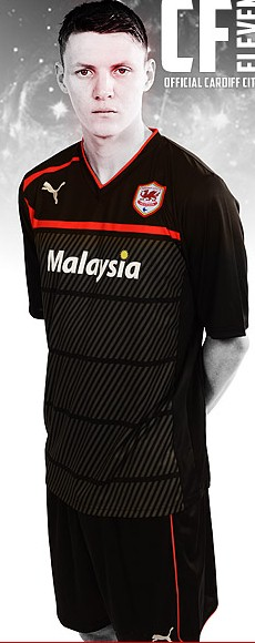 New Cardiff City Third Kit 12 13