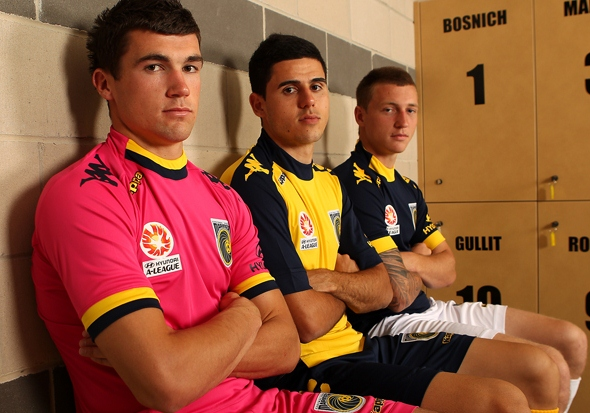 New Central Coast Mariners Jersey 2012 13
