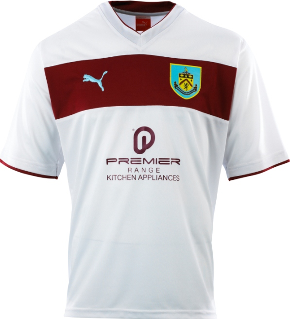 White Burnley Kit 2012