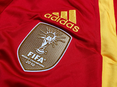 Spain Adidas World Cup Branding