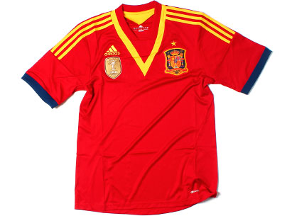 New Spain Confederations Cup 2013 Jersey- Adidas Spain Home Kit 2013 Brazil - Football Kit News ...