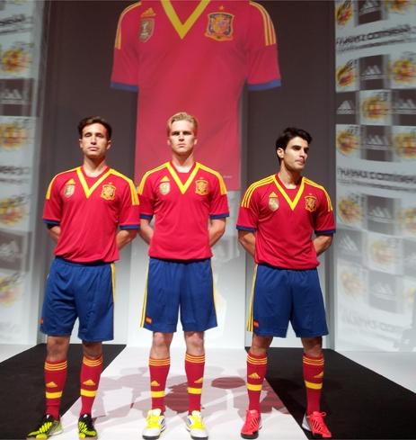 Spanish Confederations Cup Jersey