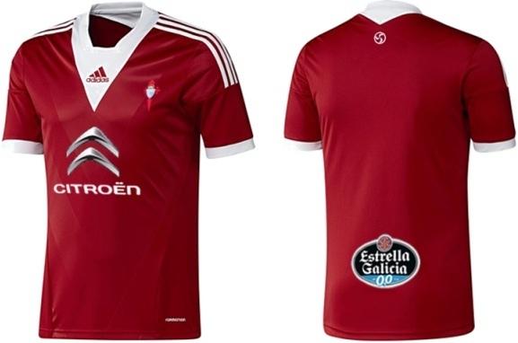 Celta De Vigo Copa Del Rey shirt 2012-2013