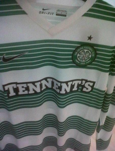 New Celtic Home Kit 2013-14