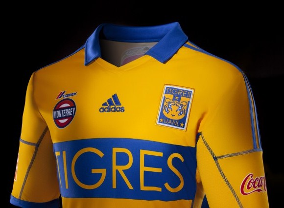 New Tigres Soccer Jersey 2013
