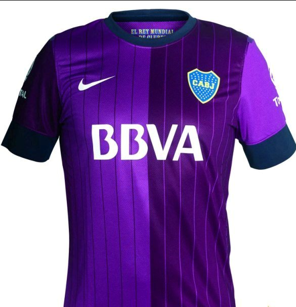 Everything Soccer Football New Boca Juniors Jersey Tiga Purple Boca Kit Tiga Nike