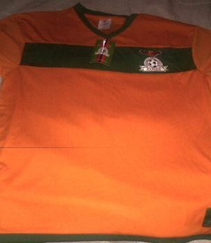 Zambia Supporters Replica Shirt