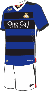 Blue DRFC Shirt 2013