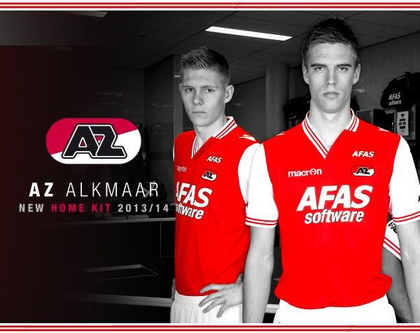 New AZ Alkmaar Jersey 13 14