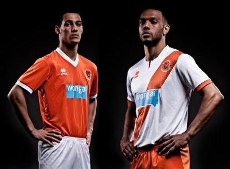 New Blackpool Kit 13 14