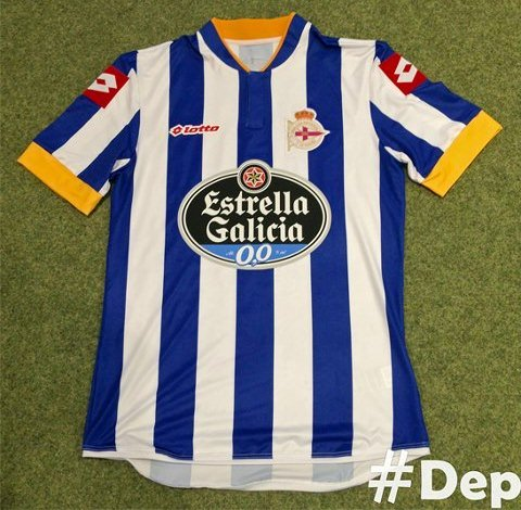 New Deportivo Home Shirt 2013 2014