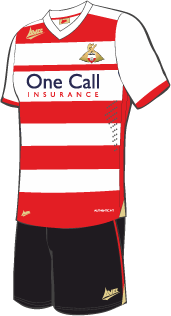 New Doncaster Home Kit 2013