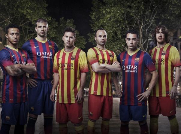 Barcelona New Kit 2013 14