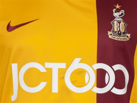 Bradford City New Kit