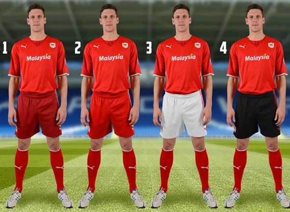 Cardiff City Shorts Options