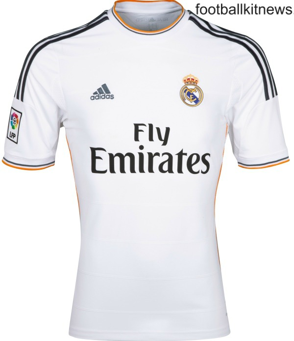 New Real Madrid Kit 2013-2014- Adidas Fly Emirates Real Madrid Home