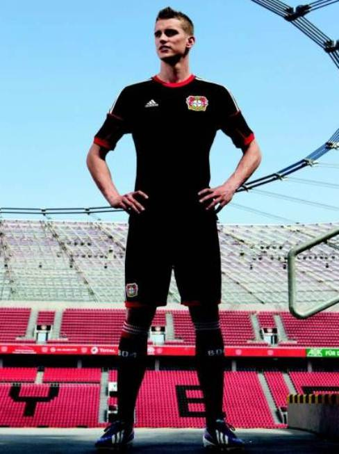 New Bayer Leverkusen Black Jersey 2013
