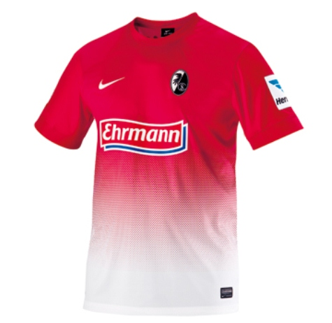 New Freiburg Home Jersey 2013