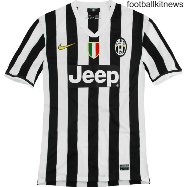 New Juventus Home Kit 13 14